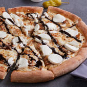 Pizza Cabra Balsámica Mediana