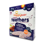 Galletas De Arroz Suave Organic Teethers, 1.7 Onzas