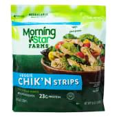 Veggie Chicken Strips Morning Star Farms, 10 Onzas