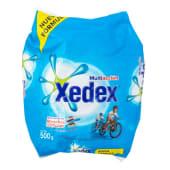 Detergente En Polvo Para El Lavado De Ropa Xedex Multiacción, 500 Gramos
