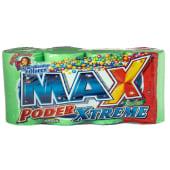 4 Pack Jabón Para Lavar Ropa Mr. Max Poder Frescura Silvestre, 425 Gramos