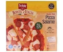 pizza de salami sin gluten sin lactosa