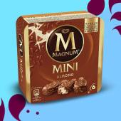 Magnum Mini Almendras (6u)