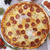 Pizza gourmet mexicana