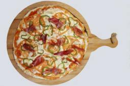 Pizza pequeña gourmet andaluza