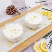 Ración tarta de limón