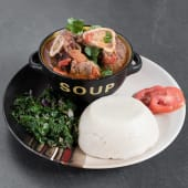 Osso Bucco served with Ugali