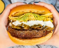 The Crunch Mex Burger