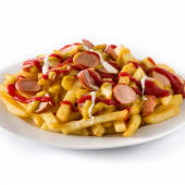 SalchiPapa | Frankfurter with chips