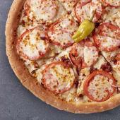 Pizza Barbacoa Crema Mediana