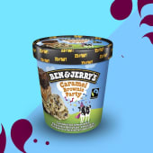 Ben & Jerry's Caramel Brownie Party (465ML)