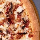 Pizza Carbonara Mediana