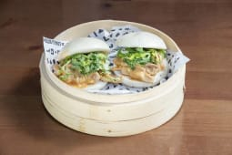 Pan brioche de cerdo Pekín