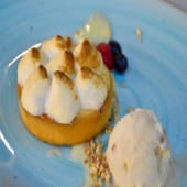 Lemon pie de merengue