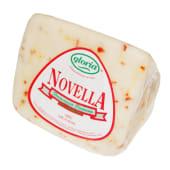 Branza Caciotta Novella cu ardei picant Gloria 200g