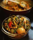 Bhindi do pyaaza