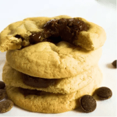 Cookie de Chocolate e Nutella