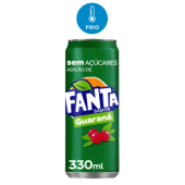 Fanta Guaraná Lata 330ml