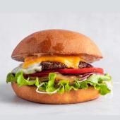 Самый вкусный бургер размера L