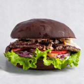 Грибной бургер