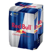 4Pack Red Bull 25Cl