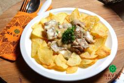Телятина в сливочном соусе (300 гр.)