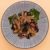 Локшина Удон з телятиною та соусом Сінгапур (350г)