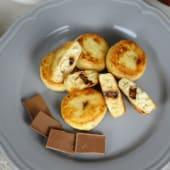 Сирники з бананом і шоколадом (6шт/325г)