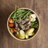 Salad bowl de atún confitado