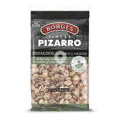 Pizarro pistachos tostados y salados bolsa 160 gr