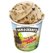 Helado Ben & Jerry's Vegan Cookie Dough 465ml