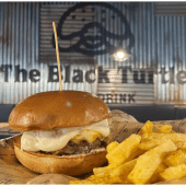 Cheeseworld Burger + Patatas fritas