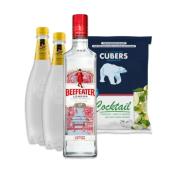 Pack Gin (Beefeater + 2x Tónica + Gelo)