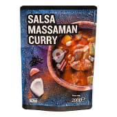 Salsa massaman curry