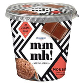 Mousse de chocolate con leche vaso 100 gr