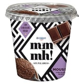 Mousse de chocolate negro vaso 100 gr