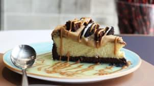 VOLCANO CHOCO CHEESE CAKE