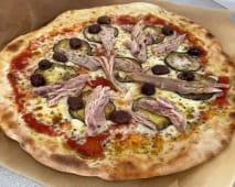 Pizza Tonno e Melanzane