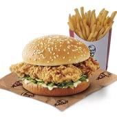 Doble Krunch Burger + Patatas