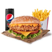 Menú Original Doble Cheddar Burger