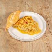 Pincho de tortilla trufada
