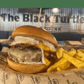 Tartufo Burger + Patatas fritas (M)