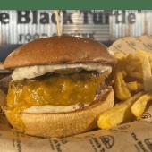 Bastarda Burger + Patatas fritas (M)