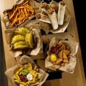 Para 4: Crunchy Tacos + Grillers + Chicken Nachos +  Nachos Supreme
