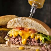 Menú Top Cheese Burger 150 grs