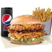 Menú Doble BBC Burger