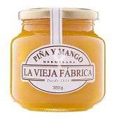 Mermelada de piña y mango frasco 350 gr