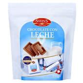 Chocolate leche porciones