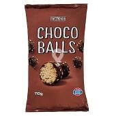 Aperitivo bolas maíz con chocolate (choco balls)
