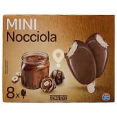 Helado palo bombón mini nocciola (cobertura doble de crema cacao y avellana)